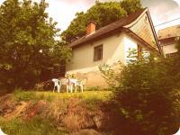 Pohled ze zahrady (Prodej chaty / chalupy, Mistrovice)