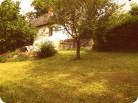 Pohled za zahrady (Prodej chaty / chalupy, Mistrovice)