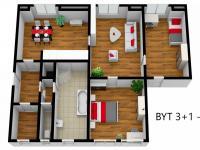 Byt 3+1 v 1NP (Prodej nájemního domu 706 m², Lanškroun)