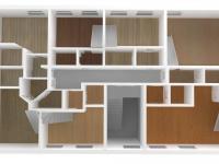 2NP (Prodej domu v osobním vlastnictví 850 m², Vítkovice)