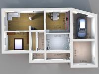 Půdorys přízemí (Prodej domu v osobním vlastnictví 349 m², Horní Čermná)