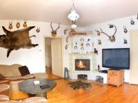Obývací pokoj (Prodej domu v osobním vlastnictví 230 m², Oskava)