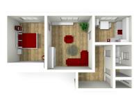 Prodej bytu 2+1 v osobním vlastnictví 67 m², Letohrad