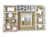 Pronájem kancelářských prostor 18 m², Broumov