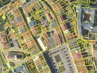 Vyobrazení budovy v katastru (Pronájem kancelářských prostor 12 m², Broumov)