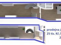 Pronájem komerčního objektu 200 m², Lanškroun