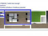 Pronájem kancelářských prostor 65 m², Lanškroun