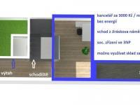 Pronájem kancelářských prostor 25 m², Lanškroun