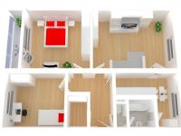 Prodej bytu 3+1 v družstevním vlastnictví 80 m², Ústí nad Orlicí