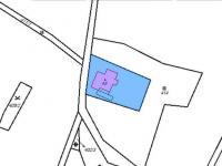 snímek pozemkové mapy (Prodej chaty / chalupy 94 m², Liberk)