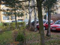 parkování ve vnitrobloku (Prodej bytu 2+1 v osobním vlastnictví 51 m², Hradec Králové)