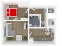 Prodej bytu 2+1 v osobním vlastnictví 78 m², Kostelec nad Orlicí
