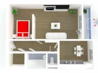 Pronájem bytu 1+1 v družstevním vlastnictví 40 m², Rychnov nad Kněžnou
