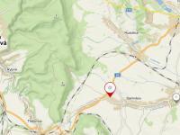 umístění v mapě (Prodej domu v osobním vlastnictví 112 m², Damníkov)