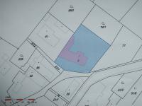snímek poz.mapy st.p.1+ zahrada č.74/1 (Prodej domu v osobním vlastnictví 137 m², Čermná nad Orlicí)