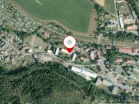 snímek pozemkové mapy (Prodej bytu 2+1 v osobním vlastnictví 53 m², Meziměstí)