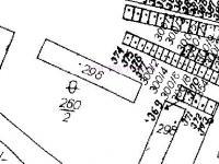 katastrální mapa (Prodej bytu 2+1 v osobním vlastnictví 53 m², Meziměstí)