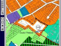 územní plán na tento pozemek (Prodej pozemku 685 m², Česká Třebová)