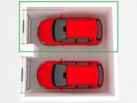 3D vizualizace garáží (Prodej garáže 23 m², Pardubice)