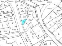 situace v pozemk. mapě (Prodej komerčního objektu 126 m², Česká Třebová)
