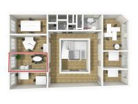 Pronájem kancelářských prostor 17 m², Broumov