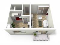 Prodej bytu 1+1 v družstevním vlastnictví 33 m², Břeclav