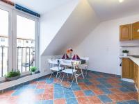 kuchyně (Prodej bytu 2+kk v osobním vlastnictví 41 m², Šestajovice)