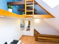 pokoj (Prodej bytu 2+kk v osobním vlastnictví 41 m², Šestajovice)