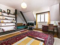 Obývací pokoj (Prodej bytu 2+1 v osobním vlastnictví 91 m², Praha 6 - Bubeneč)