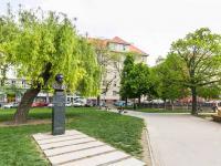 Socha Puškina (Prodej bytu 2+1 v osobním vlastnictví 91 m², Praha 6 - Bubeneč)