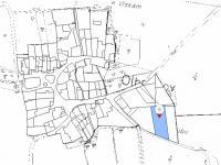 Označení polohy pozemku (Prodej pozemku 4194 m², Olbramov)