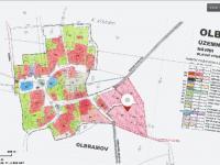 Územní plán (Prodej pozemku 4194 m², Olbramov)