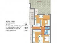 Prodej bytu 3+kk v osobním vlastnictví 74 m², Příbram