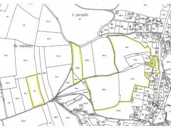 Prodej pozemku 1816 m², Černošice