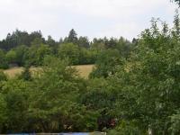 výhled ze zahrady (Prodej pozemku 421 m², Letovice)
