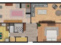 Prodej bytu 3+1 v osobním vlastnictví 100 m², Kuřim