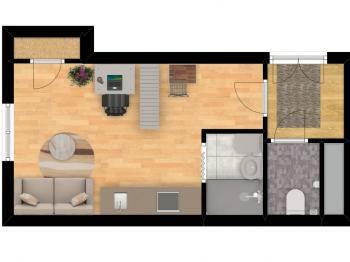 Prodej bytu 2+kk v osobním vlastnictví 44 m², Praha 10 - Horní Měcholupy