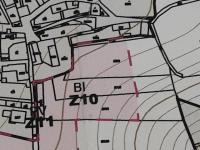 Územní plán možného zastavení pozemku (Prodej pozemku 1866 m², Křešice)