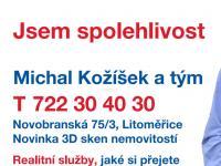 Prodej bytu 1+1 v osobním vlastnictví 35 m², Litoměřice