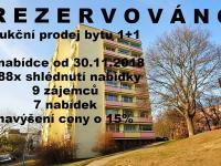 Prodej bytu 1+1 v osobním vlastnictví 34 m², Litoměřice