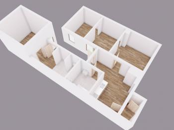 Prodej domu v osobním vlastnictví 80 m², Chodouny