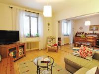 Obývací pokoj- okna do ulice Michalovická - Prodej domu v osobním vlastnictví 180 m², Litoměřice