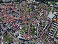 Lokace domu  - Prodej domu v osobním vlastnictví 180 m², Litoměřice
