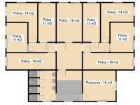 2.NP čp.22 - Prodej domu v osobním vlastnictví 450 m², Krásná Lípa