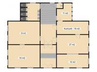 1NP čp. 22 - Prodej domu v osobním vlastnictví 450 m², Krásná Lípa