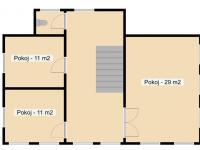 dům správce 2NP - Prodej domu v osobním vlastnictví 450 m², Krásná Lípa