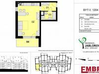 Prodej bytu 1+kk v osobním vlastnictví 46 m², Moravany