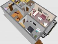 2.NP (Prodej domu v osobním vlastnictví 396 m², Brno)