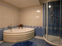 přízemí - koupelna (Prodej domu v osobním vlastnictví 776 m², Líšnice)