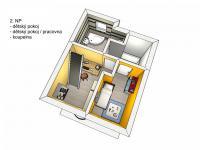 2. patro - Prodej domu 138 m², Hrádek nad Nisou